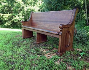 Church Pew Restoration